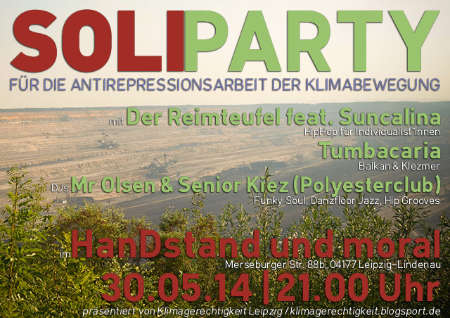 Flyer SoliParty